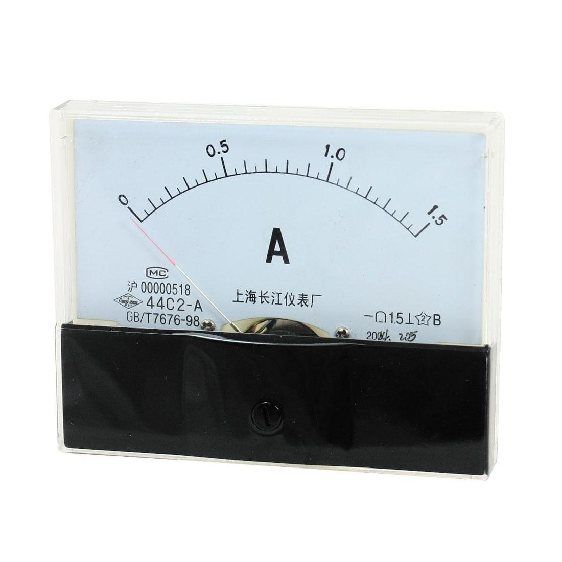Cheap Ammeter Gauge Find Deals On Line At Alibabacom 8n Ford 12v Wiring Get Quotations Dc 0 15a Measuring Range Rectangle Panel Amperemeter 00ammeter50