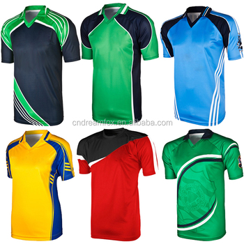 a4c23a2b1 New design Wholesale professional team custom sublimation cricket team  jersey design