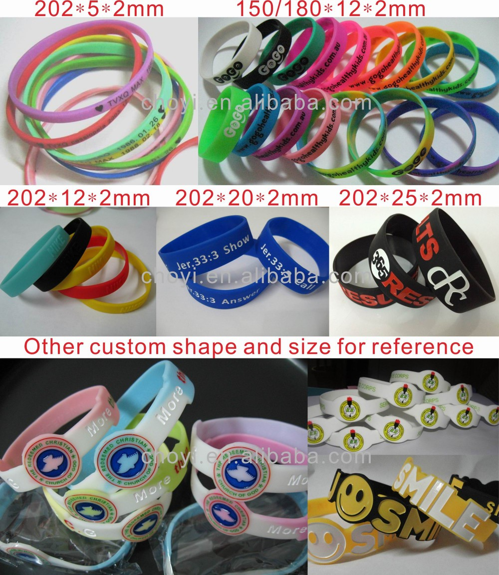promotional festival wristbands
