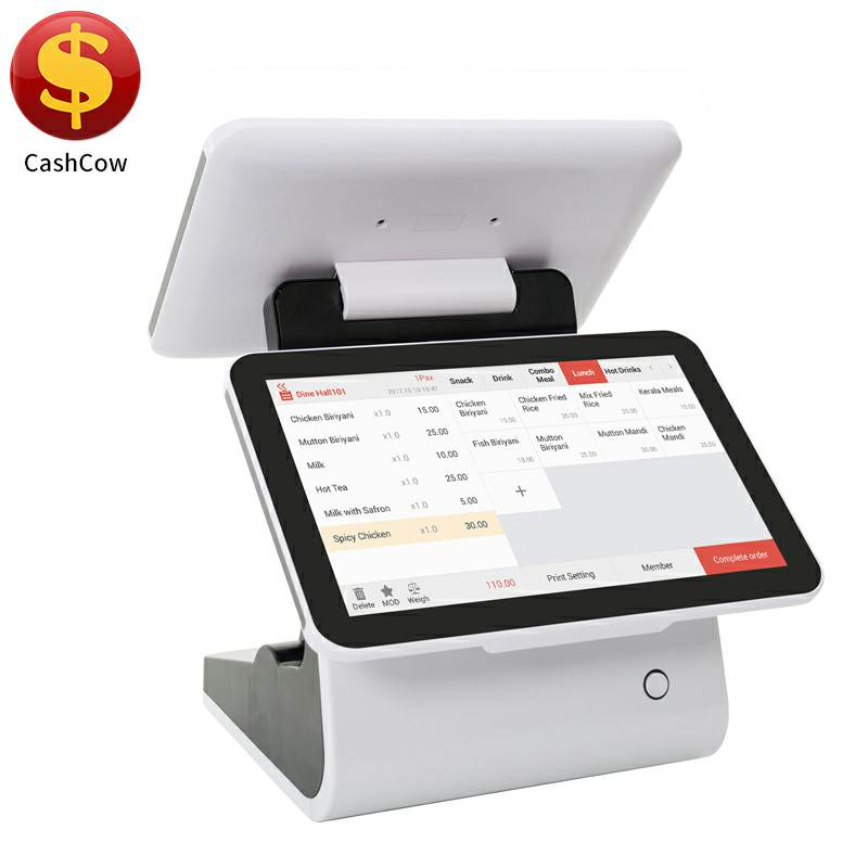 Hardware and software custom touch screen pos machine india with usb