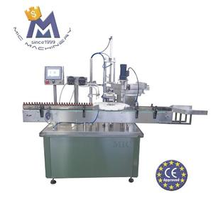 MIC CE approved eliquid filler plugger capper labeler machine