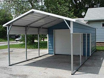 New Prefab Steel Carport/prefabricated Steel Canopy For ...