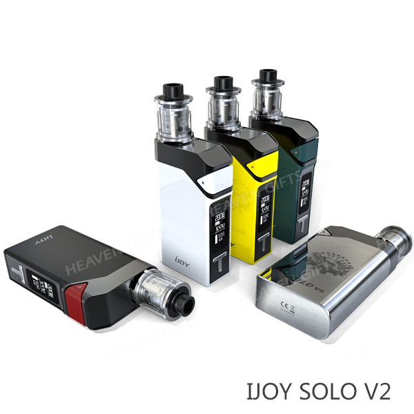 HeavenGifts Originale Autentico 0.3ohm 200 W 2 ml IJOY Solista V2 Kit migliore vape e cig
