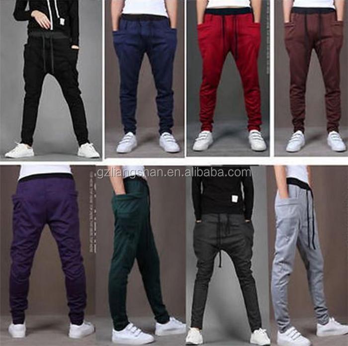 Danza sportwear baggy harem Pantalones deportivos al por mayor men Jogger  sweatpants b3fd6dd595b4