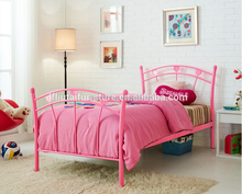double pink bed for kids