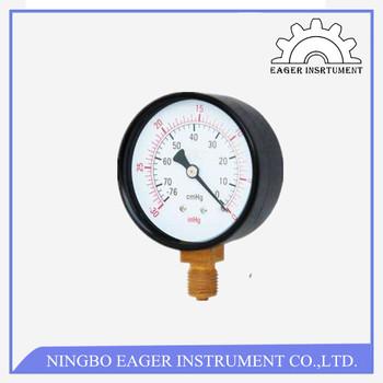 Vacuum Measurement Instrument Pressure Guage Gauge Ranges