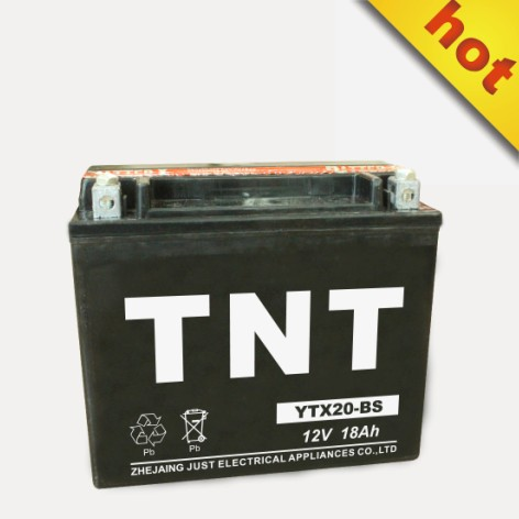 motor battery YTX20L-BS electric vehicle battery