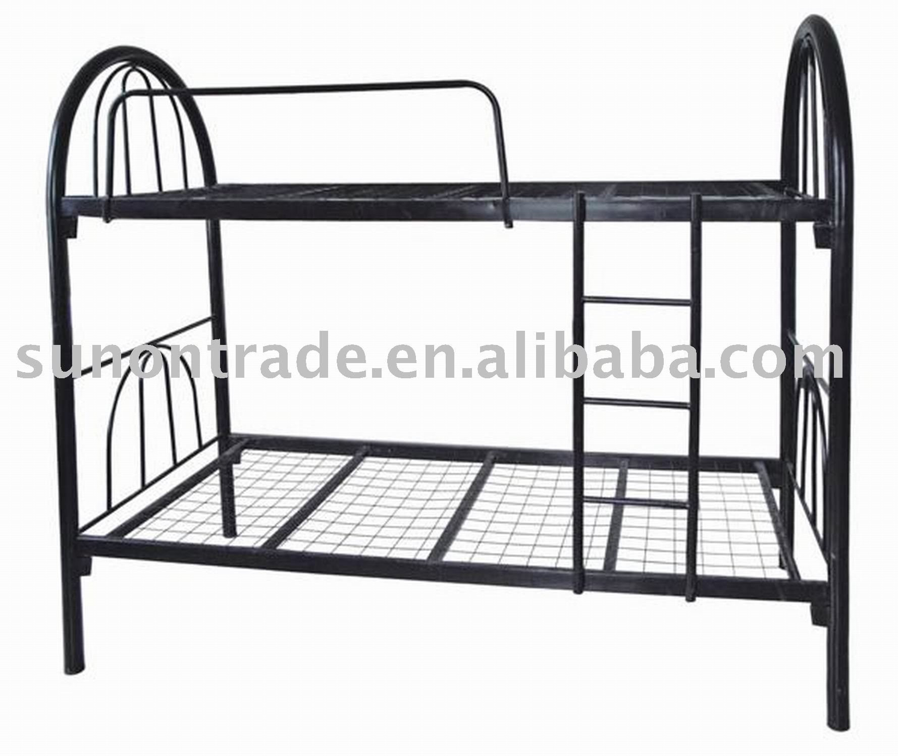 Steel double deck bed - Hot Model Iron L Bunk Bed With Wire For Adult A 03 Buy Iron Bed Military Bunk Bed Double Bunk Beds Product On Alibaba Com