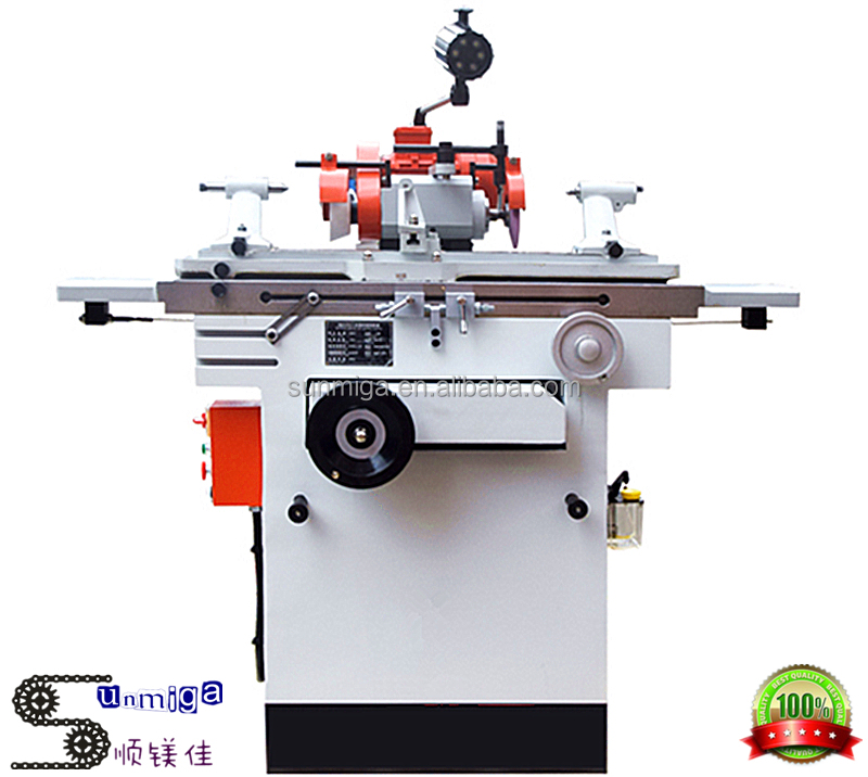 High precision universal cutter and tool grinder