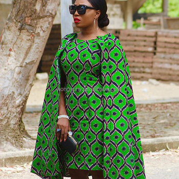 2017 Autumn Wax African Print 100% Cotton Plus Size Cape Designs Party  Dress - Buy African Print Dress,Cape Dress,Plus Size Dress Product on ...