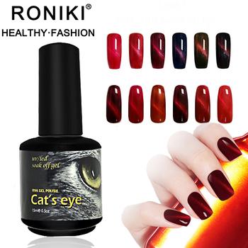 RONIKI Bright Color Strong Pigment Hot Flame Cat Eye Gel Polish 12 Colors  Magnetic Uv Gel Polish OEM, View magnetic uv gel polish, RONIKI Product ...