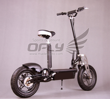 Best Selling CE Approved New Foldable e-scooter 1000w in big tire