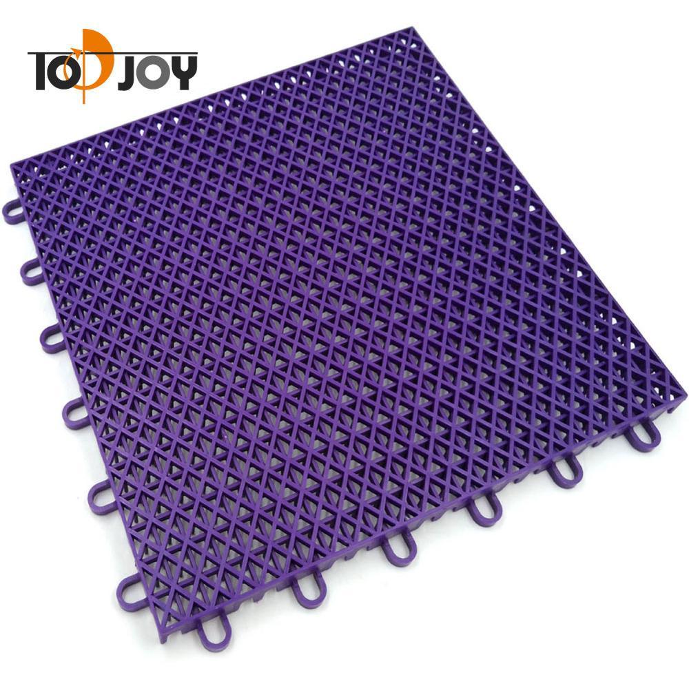 Anti-slip Interlocking PP Tiles Around Swimming Pool