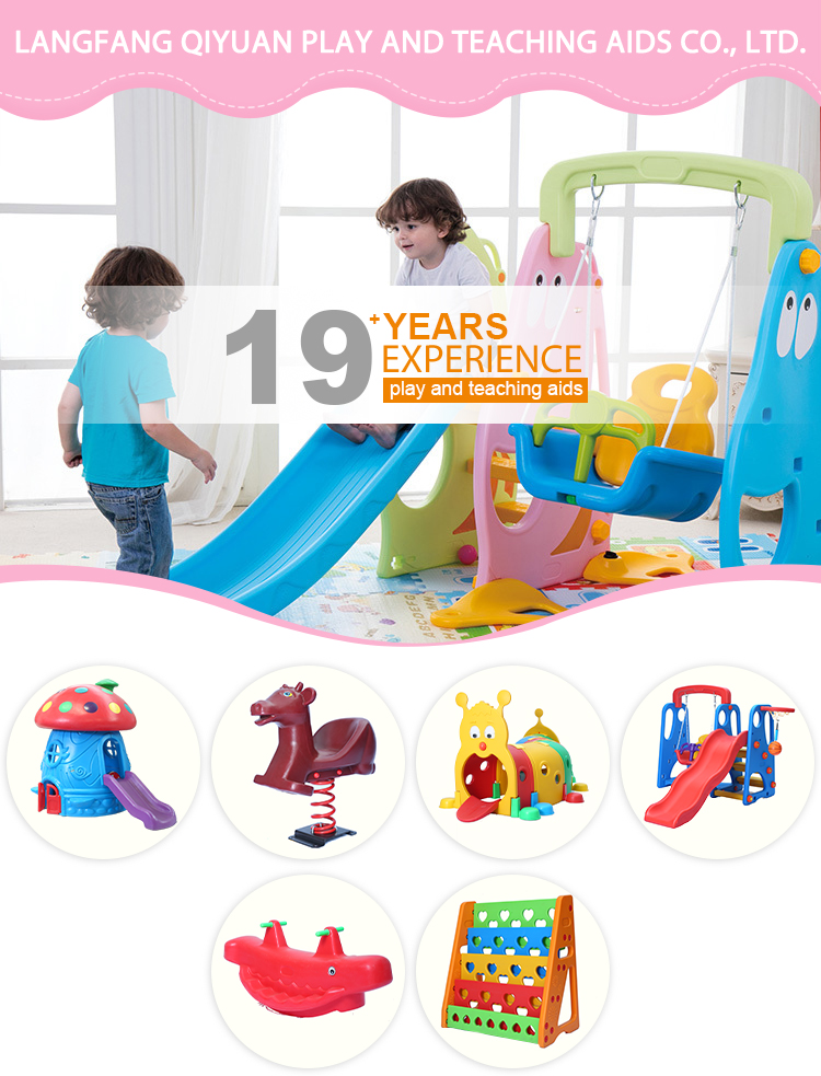 2019 groothandel verkoop van kinderen grote outdoor entertainment speelgoed plastic kinderen slides