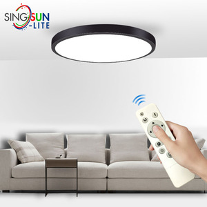 Remote Ceiling lamp 12W 300mm Led Ceiling Fixture Modern Round Led Lights Ceiling for Living Room