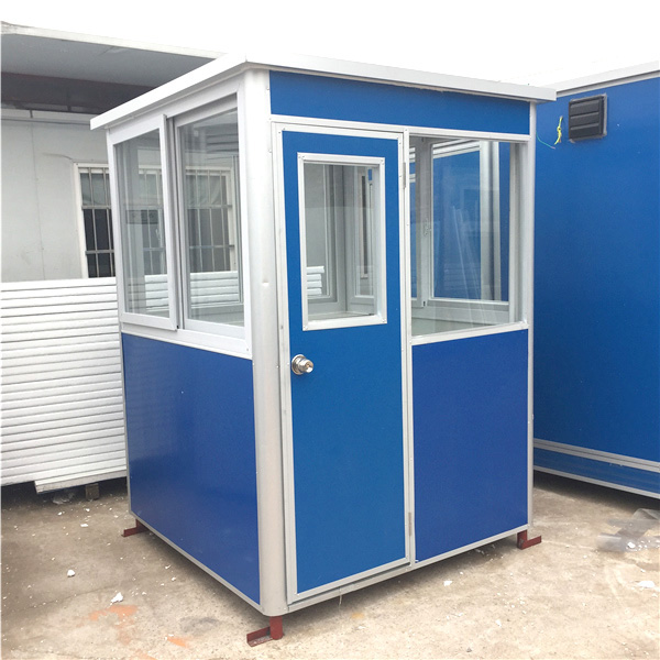 Aluminium Office Cabins : Hot portable outdoor security cabin high quality