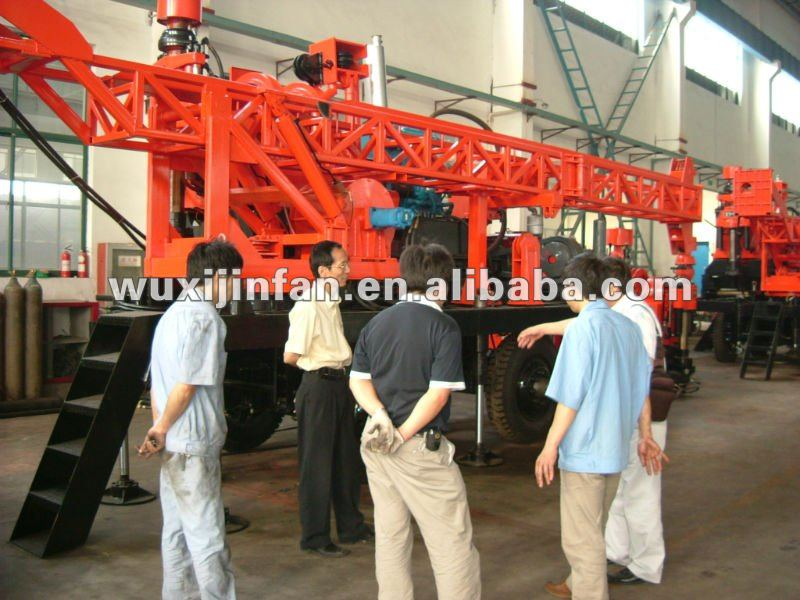 Hydraulic Surface Exploration Core Drilling machine, Model No. YDX-1200, made in China