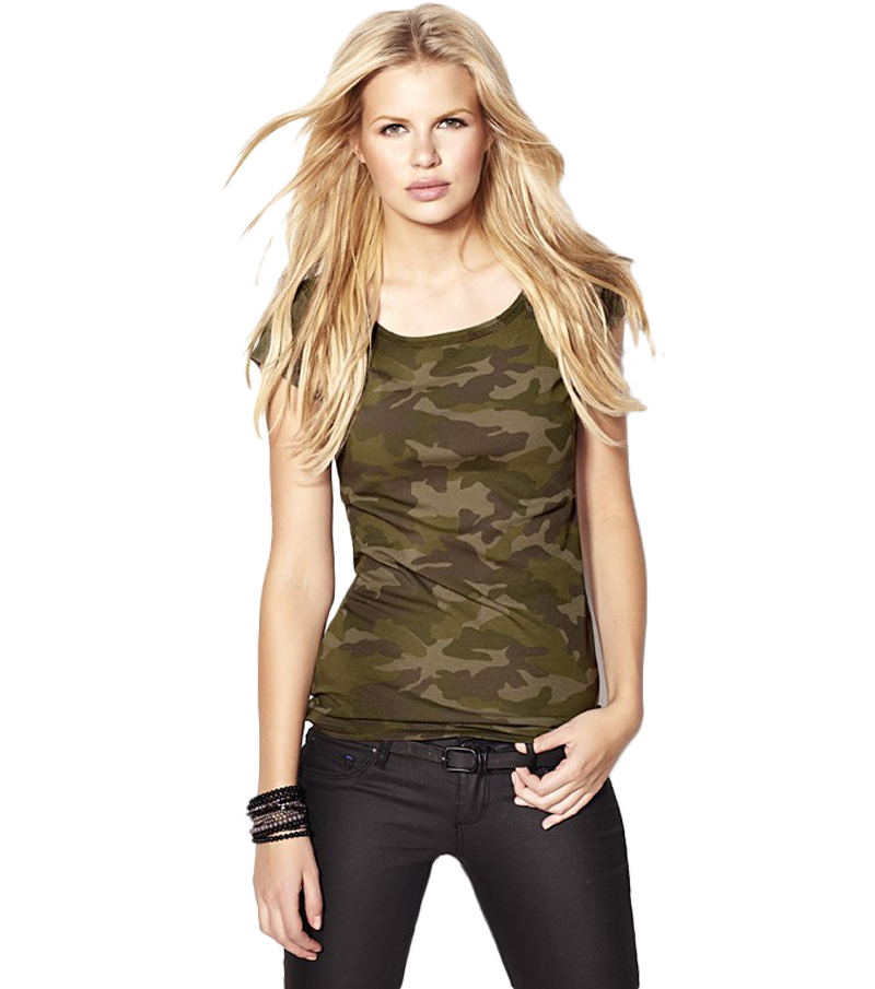d1bc3c339acc0 Buy 2015 New Fashion Military Style Camouflage Women T Shirt Casual Sport  Slim Fit Shirts Army T Shirts For Women Camouflage Women in Cheap Price on  ...