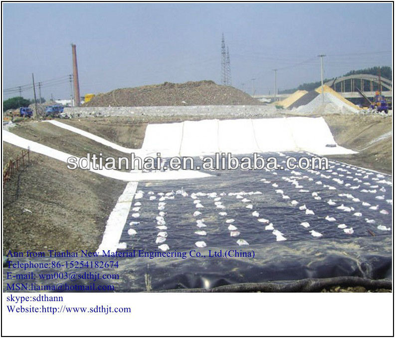 HDPE waterproof geomembrane fish pond liner