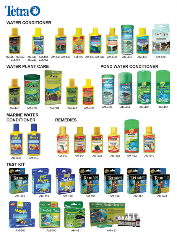 Tetra Water Conditioner & Test Kit