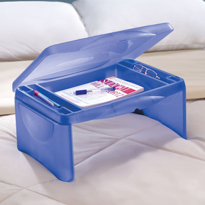 Kid Storage Folding Lap Desk Folding Plastic