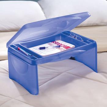 Kid Storage Folding Lap Desk Plastic