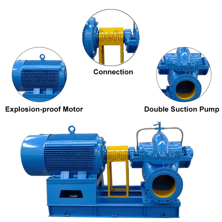 Engine Driven Centrifugal Pump Diesel Clean Water Pump