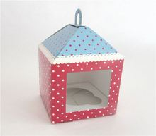 Professional made trendy style durable kraft lunch paper box for cake