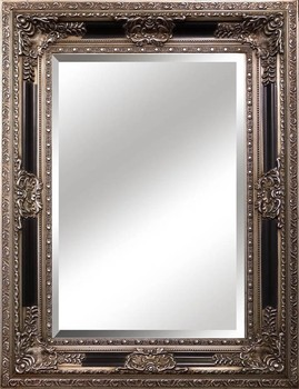 Antique mirror frame Rectangle Square Large Wall Hanging Solid Wood Antique Silver Beading Mirror Frame Vesnajobinfo Square Large Wall Hanging Solid Wood Antique Silver Beading Mirror