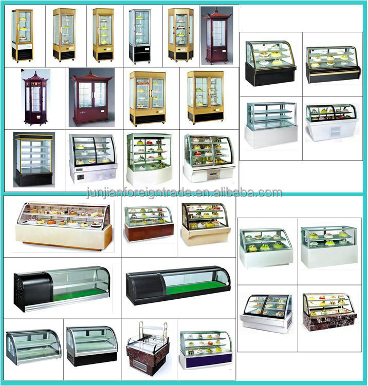 Vertical Cake Display Cabinet Refrigerated Pastry Equipment Upright Refrigerator With Ce Certification