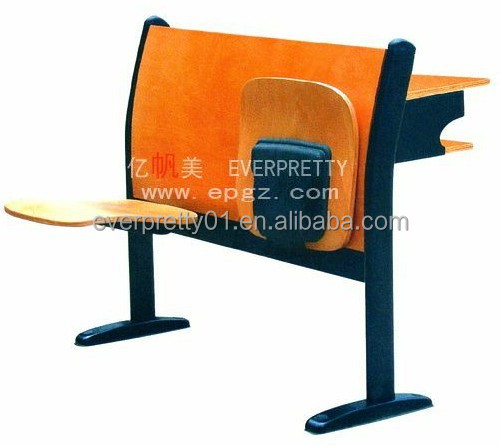 Cheap Manufacture Auditorium School Folding Chairs and Tables