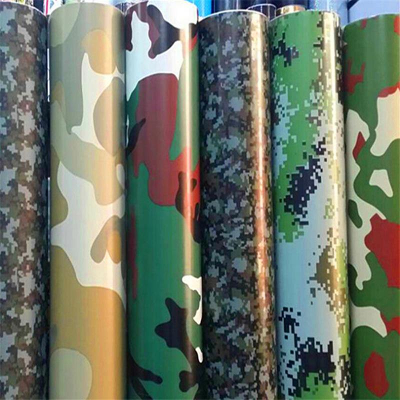 Camo Muster 3 mt Auto Vinyl Wrap Wasserdichte Auto Aufkleber Wrapping Film