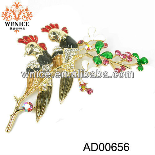 Wholesale Alloy Flower Brooch Animal Brooch