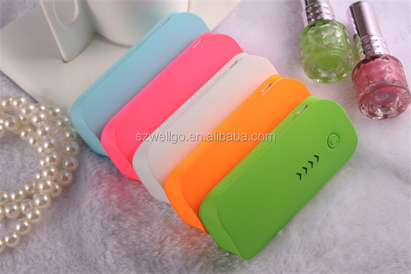 Universal 18650 Power bank 5600mah Powerbank USB External Battery Charger for Cell Phone backup