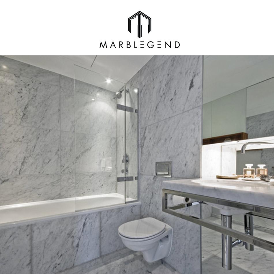 Bianco Carrara Marble Thin Tile