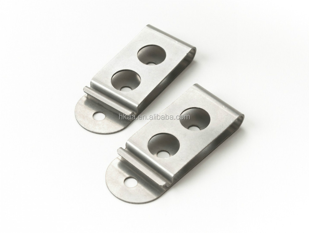 Wholesale Manufacturer Stamping Stainless Steel Magnetic Belt Clips