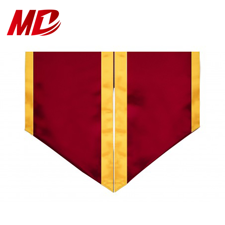 Graduation Satin Honor Stoles Classic End With Trim