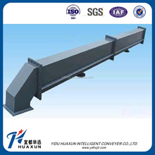 Air conveyor for powdery materials