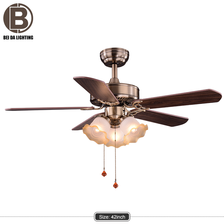 Modern led ceiling fan with light remote controller with the fan