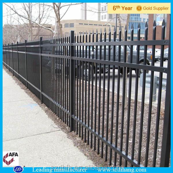 M tallique d corative panneaux de cl ture m tal temporaire panneaux de cl ture m tal for Barriere de jardin metallique