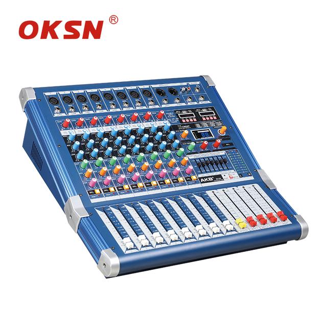Quality assurance professional recording studio power audio mixer