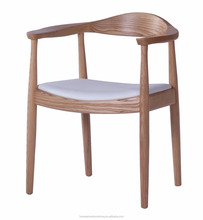 FC-CH-W-002 wooden modern dining room Upholstered chair