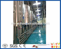 stainless steel dairy milk butter cheese processing plant for sale