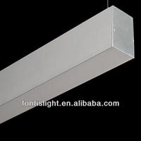 Recessed Type Aluminum Liner Profile With 3mm Thickness Pc Cover ...