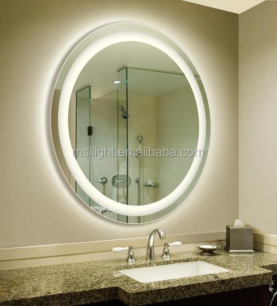 desempaador lujo tocador con luces vestidor alrededor del espejo del espejo del led con el