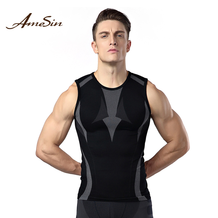 AMESIN ZAMA17 tshirt gym wear sports unisex wholesale gym wear
