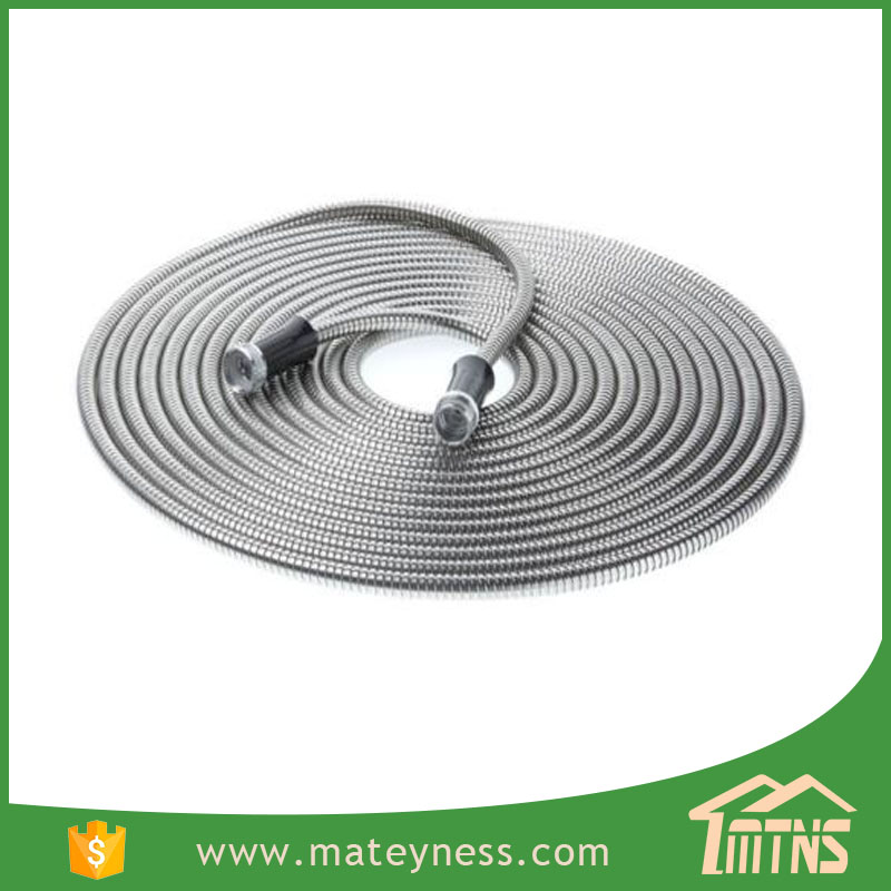 Custom Length Water High Pressure Flexible Stainless Steel Metal Garden Hose