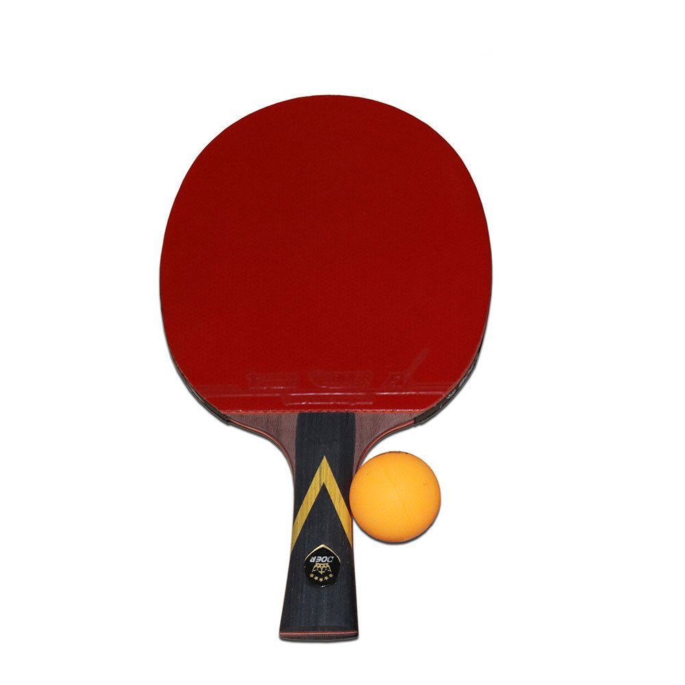 Table Tennis Racket,Advanced Ping Pong Paddle Set With 7-Ply Balde and 2mm Sponge,Premium Table Tennis Racquet with Carry Bag Ball Protector for Personal Table Tennis Game