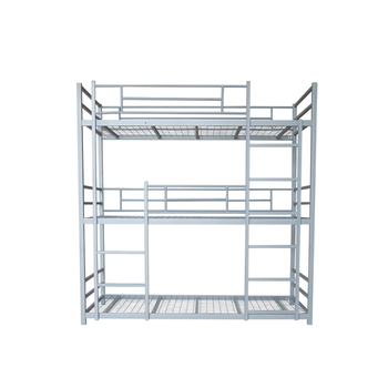 Triple Bunk Bed Dimensions Army Metal 3 Levels Bunk Bed   Buy 3