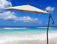 Custom printing sun palm tree beach umbrella
